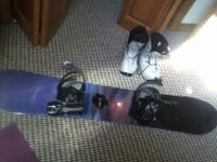 5150 Snowboard (size 140) with Bindings and Boots (size
