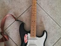 I am selling a Fender electric guitar. The model is a