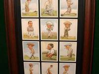 Professionally matted and framed. WA & AC Churchman