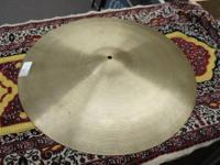 "Up for sale is a vintage 1970's Zildjian A 22"" Medium"