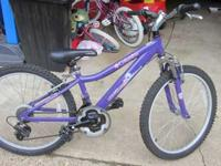 I have a new columbia wave rider purple mountain bike