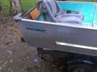 I have a nice 12' aluminum boat with a with a nice