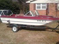 i have a sixteen feet sea raider fish an ski boat for