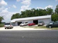 1 1  reapairs and collsion shop with a lift 1/2 acre of