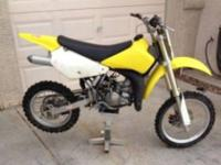 Up for sale is a 2003 Suzuki rm85. The bike is in good