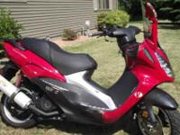 2007 Red Phantera Vento for sale. 150cc engine, runs