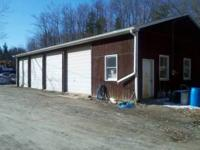 4 Stall Heated Garage for rent. Ideal for the small