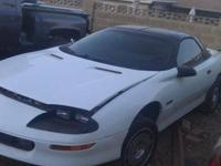 White 94 Chevy z28 Camaro t-tops all power has no motor