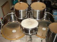I have a Monster double bass Tama Rockstar seven piece