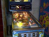 Up for sale is a Mr. Mrs. Pacman Pin Ball. This pinball