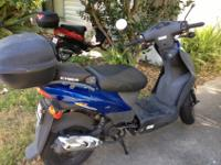 2008 50cc Kymco Agility scooter. Purchased 2 years ago