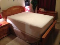 Bedroom Set IncludesVery Nice Queen Size Mattress from