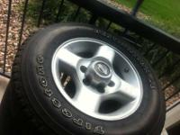 i have this wheels and tires fol sale that i take off