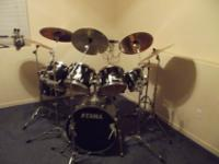 I am selling my drumset. It has 5 toms, Iron Cobra