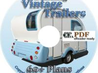This Data DVD contains over 60 Trailer plans plus an