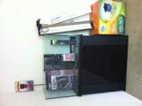 70 gallon tech tank with overflow, stand, sump,