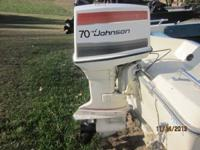 This 70hp Johnson is very clean and in very good
