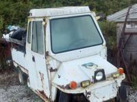 I have a Cushman Truckster 4 wheeled needs restored. I