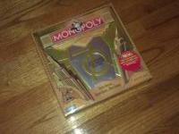 70th anniversary monopoly game. Never used...package
