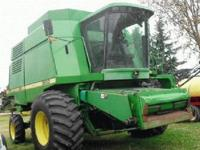 1995 John Deere 9600 Combine. 2300 hours. New concaves