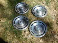 I have all 4 hubcaps in great shape. Fits 14 inch