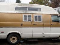 This campervan ran and all worked when parked.. but has