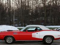 "Call  or email sales@mcgohio.com 1971 Plymouth ""cuda"