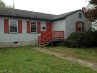 Starter home with lots of potential. 3 bedrooms, 2
