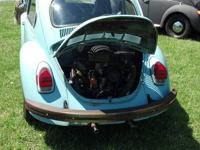 71 VW beetle, in mint condition has been painted some