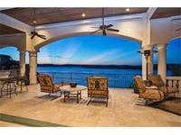 Premier waterfront home on main body of Lake Travis.