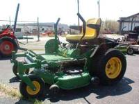 approx 670 hours , priced to sell. John Deere V-Twin