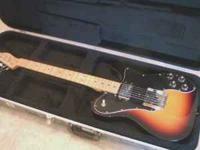 I have a '72 Fender Telecaster Custom reissue. Guitar