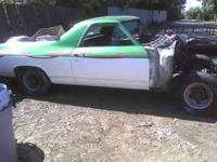 A 72 El Camino passenger door good condition no dents