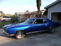72 monte carlo custom new paint, new 350 eng,new trans,