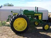 1957 720 John Deere Tractor. Excellent condition. Wide