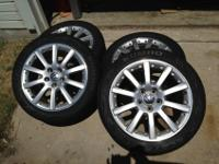 "I have a set of VW 17"" Orca two piece rims with"