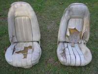 Complete set of 1973-77 Trans Am Deluxe Seats front &