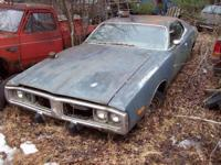 73 Dodge Charger For parts or restore 318/auto $2500