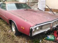 73 Dodge Charger SE. 318 motor. Complete. Auto in