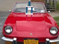 '73 Fiat 850 Sport Spider Conv. This car has been
