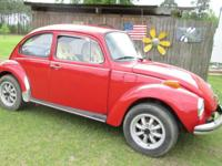 1973 SUPER BEETLE FOR SALE. SHE runs like a top and my