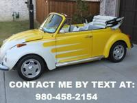 Restored 1973 Volkswagen Bug. This is a super beetle