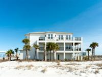 Spectacular Navarre Beach home with panoramic water