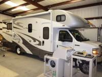 We bought this motor home just a few months ago,