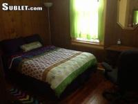 Private Furnished Room in single row home.