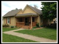 Charming Sabetha house for sale. 2 Bedrooms 1 Bath plus