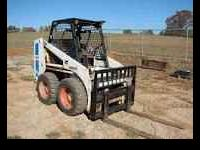 743 skidsteer with bucket 6500.00 obo first person with