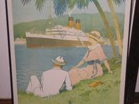 For sale is a reproduction of an original travel poster