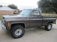 75 CHEVY SCOTTSDALE 4 x 4 $27,500One Owner - #s