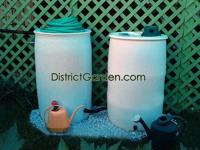 District Garden Rain Barrel Install (DC)